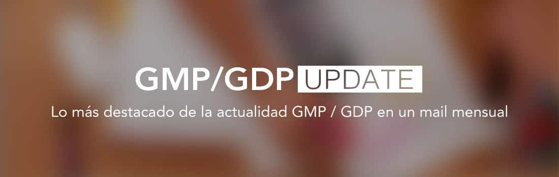 GMP/GDP Update